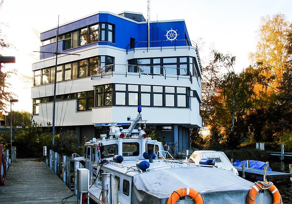 Dienstgebäude der Wasserschutzpolizei Wache West