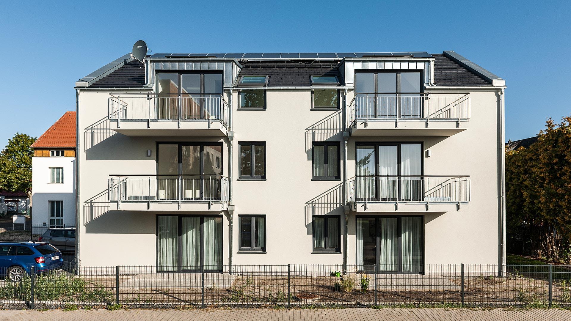 Neubau Mehrfamilienhaus Schoenefeld