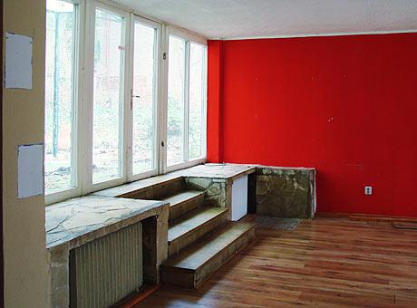 Henselmann Wohnhaus Denkmalschutz Originaldetail