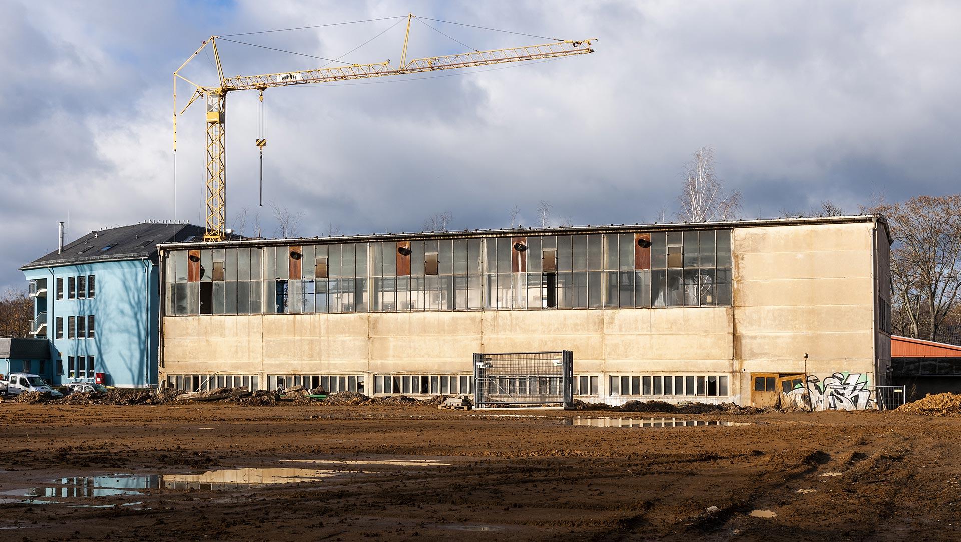 Waldorfschule Chemnitz Industriehalle
