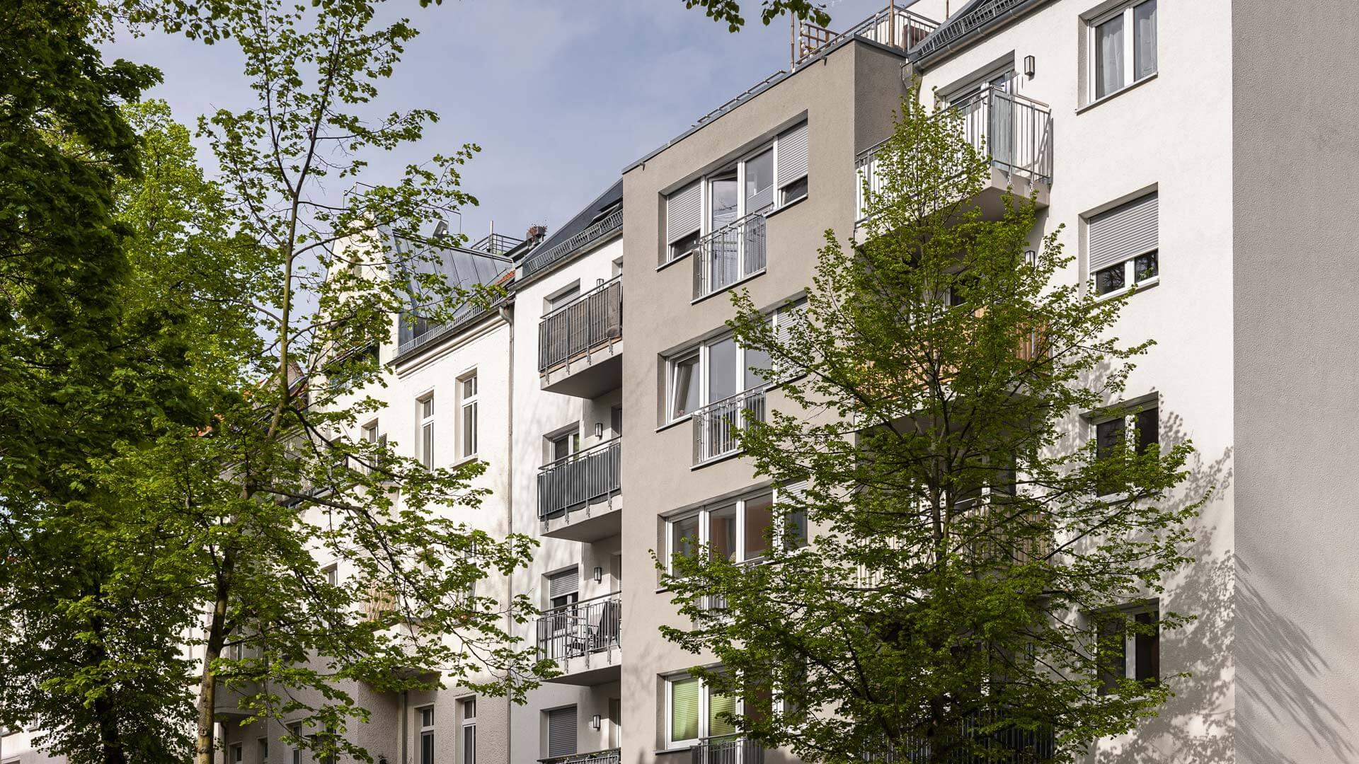 Neubau MFH Archenoldstrasse Berlin Pankow