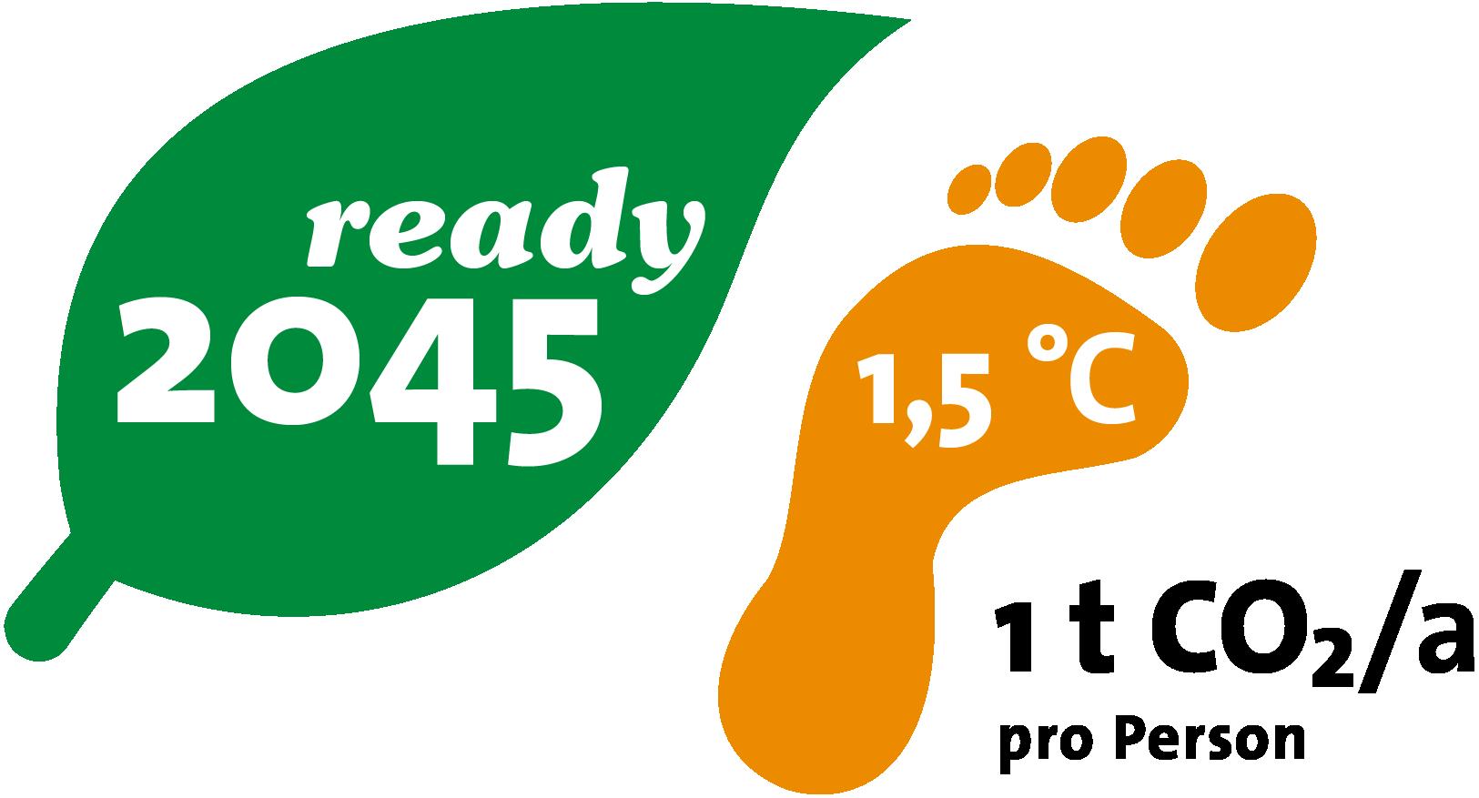 eZeit 2045 ready Fussabdruck