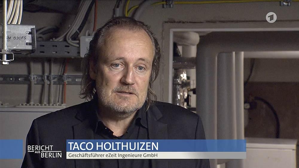 Bericht aus Berlin, Taco Holthuizen
